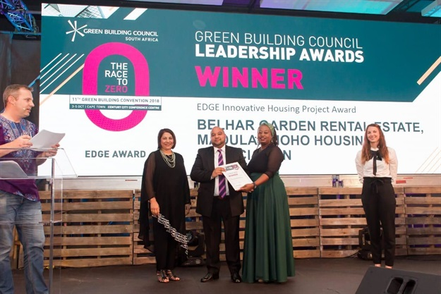EDGE Innovative Housing Project: Belhar Gardens Rental Estate, Madulammoho Housing Association (project owner)