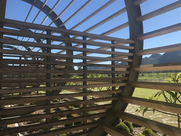New Pasarene Winery tasting room design inspired by swallow's nest