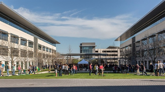 The company's current facilities in Austin accommodate 6,200 staff, marking Apple's largest presence of employees outside of Cupertino. Image © Apple