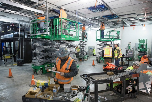 Apple's data centre in Reno, Nevada, is one of several US data centres the company is expanding over the next five years. Image © Apple