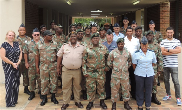 SANDF bungalows upgraded with solar water heating systems
