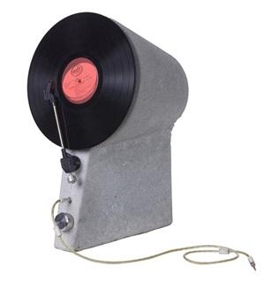 Industrial Design winner: Vertical Concrete Record Player by Jomar Dreyer