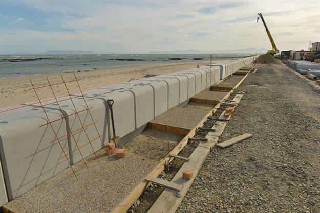 CoCT awarded for Strand sea wall rehabilitation