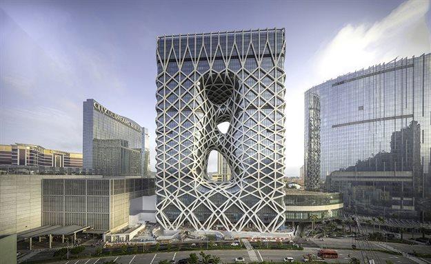 ZHA's Morpheus Hotel in Macau. Image © Ivan Dupont