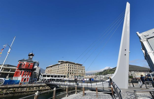 New R20m V&A Waterfront swing bridge now open