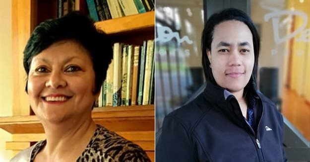 Avril Kariem, office and HR manager at Frost International and Melissa Kotze, health and safety officer at Dekon Projects