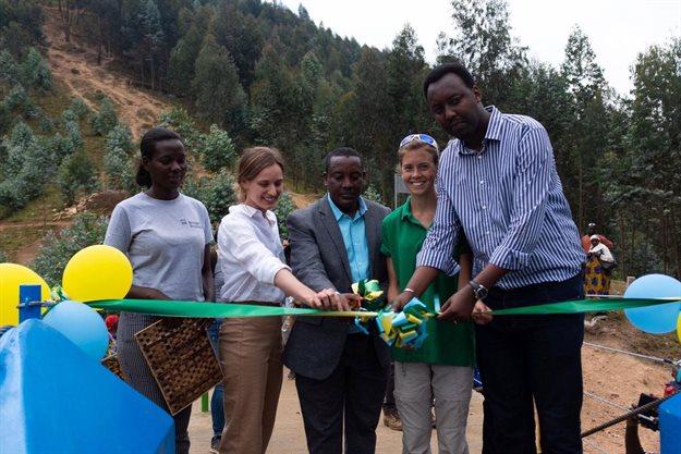WSP, B2P co-build third footbridge in Rwanda