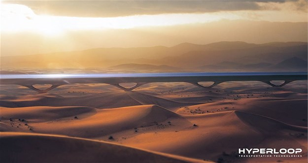 MAD Architects designs self-powered hyperloop system integrated with urban farming