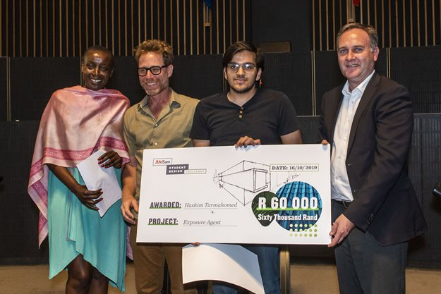 Wits student Hashim Tarmahomed bags AfriSam Student Design Challenge