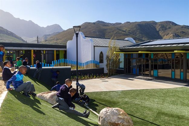 Public-private partnership results in upgrade for rural winelands school