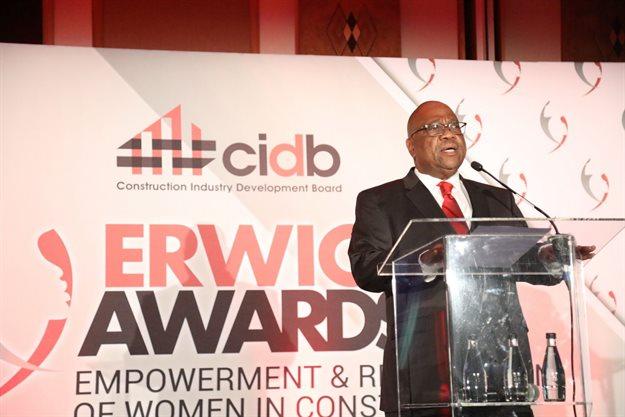 Cyril Gamede, CEO, cidb