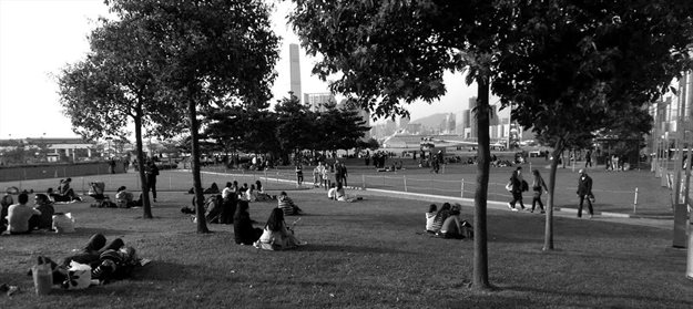 Victoria Park in Hong Kong, the sports and recreation hub of the city. Photo Credit: Patrick McInerney