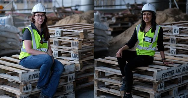 L-R: Catharine Atkins, director, and Malika Walele, professional architect, Co-Arc International Architects