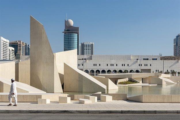Cebra's Abu Dhabi, Al Hosn Masterplan, DCT Abu Dhabi, Abu Dhabi, United Arab Emirates. Image courtesy of WAF.