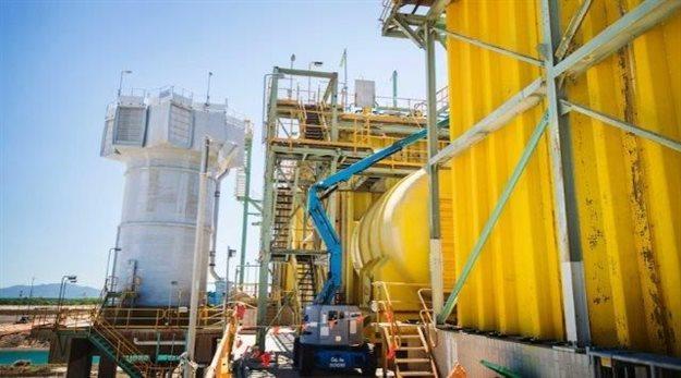 Zinc refinery in Queensland, Australia. Source: Supplied